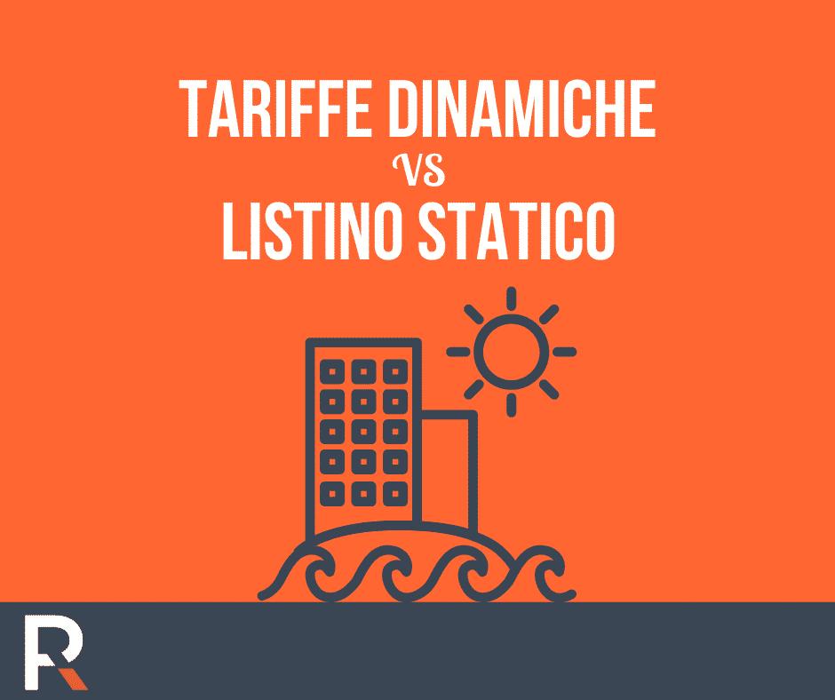 Tariffe Dinamiche vs Listino Statico - Riccardo Peccianti