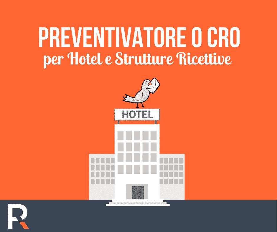 Preventivatore CRO per Hotel e Strutture Ricettive - Riccardo Peccianti