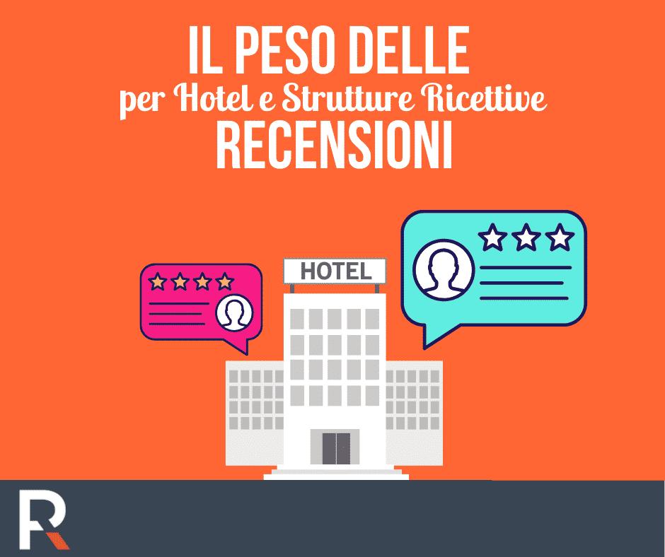 Il peso delle Recensioni per Hotel e Strutture Ricettive - Riccardo Peccianti