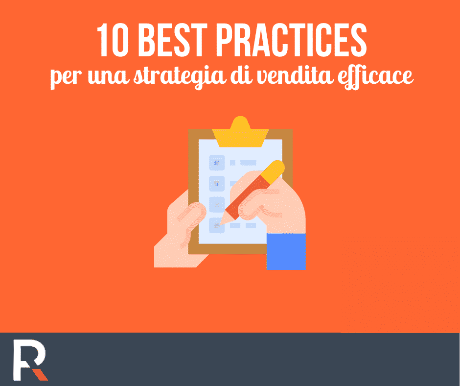 10 Best Practices per una Strategia di Vendita efficace - Riccardo Peccianti