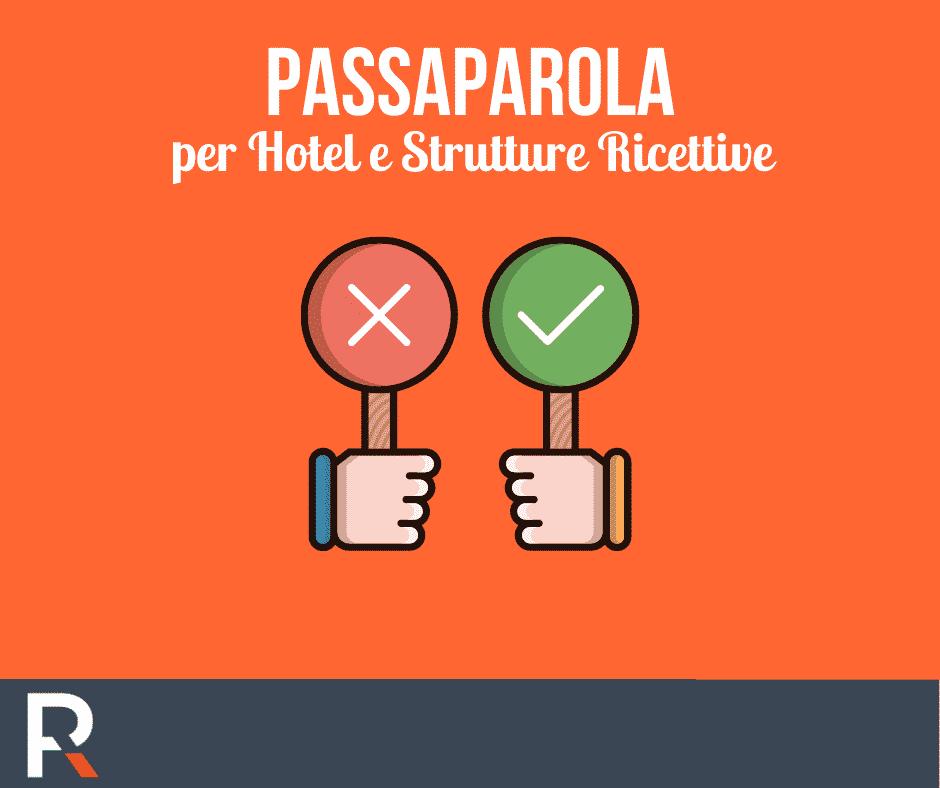 Passaparola per Hotel e Strutture Ricettive - Riccardo Peccianti